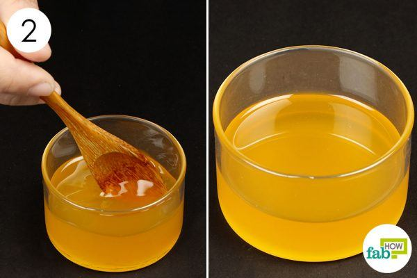 drink honey lemon juice to treat phlegm