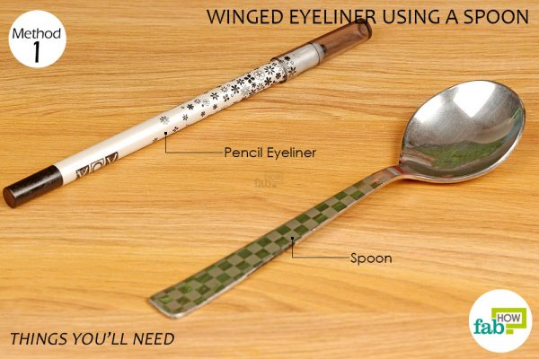 things you'll need to make winged eyeliner