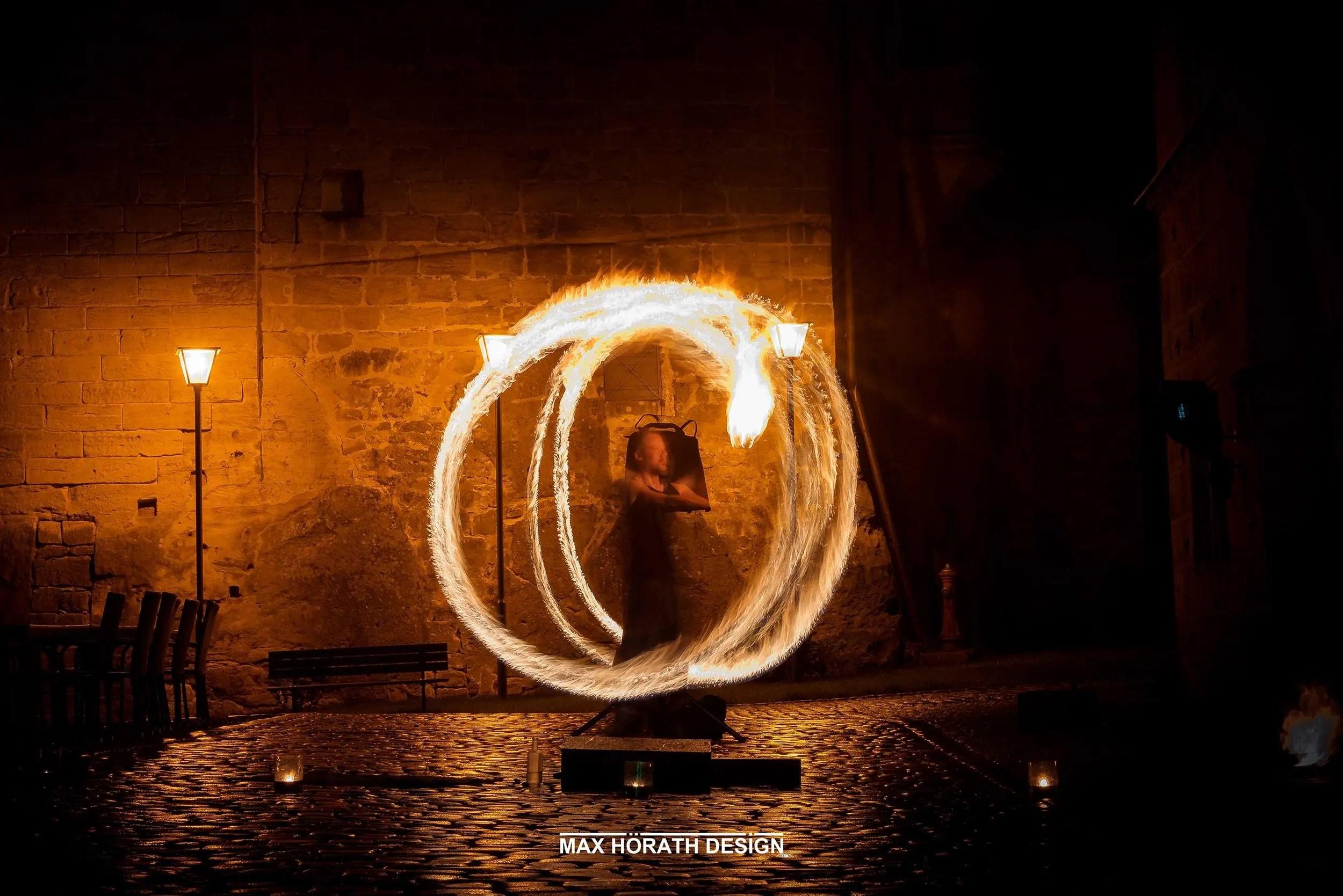 Silke Achim Trauung Feuershow 6 3