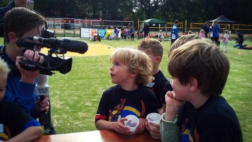 Interview kinderen KV Nova