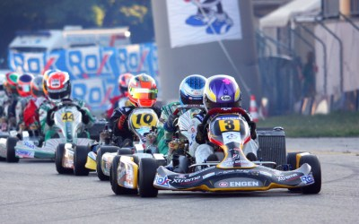 Fabienne in league of her own at Super ROK Lonato, Italy