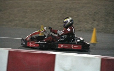 Fabienne joins Batelco Racing to win 24hr Kart Endurance Race at RKC Track in Cergy Pontois