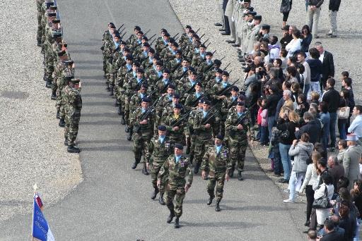 Défilé de ma promotion en avril 2011 (FMIR)