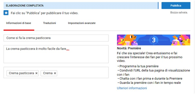 Seo per Youtube