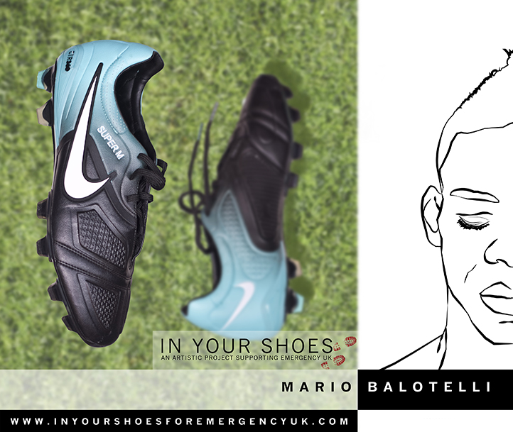 Mario Balotelli (for Emergency) (1 image)