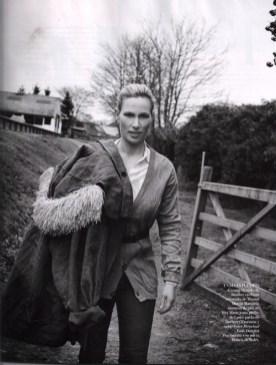 Zara Philips For Vogue Spain