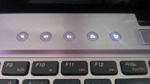 Teclas multimídia Lenovo Ideapad Z470