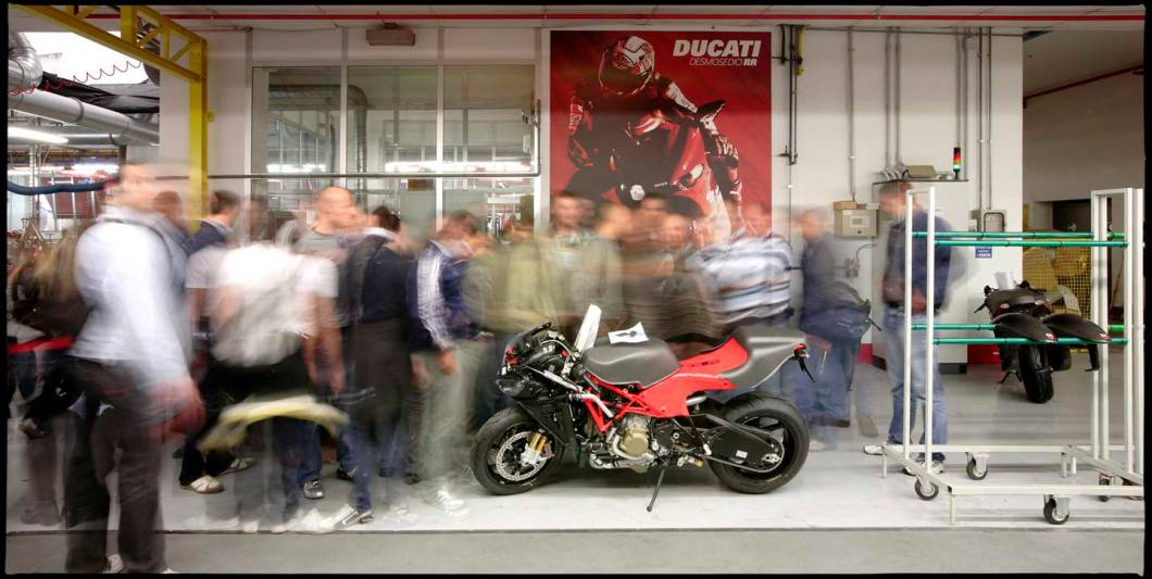 ducati fotografia corporate industriale