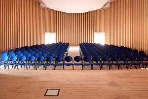 shigeru ban l'aquila temporary concert hall