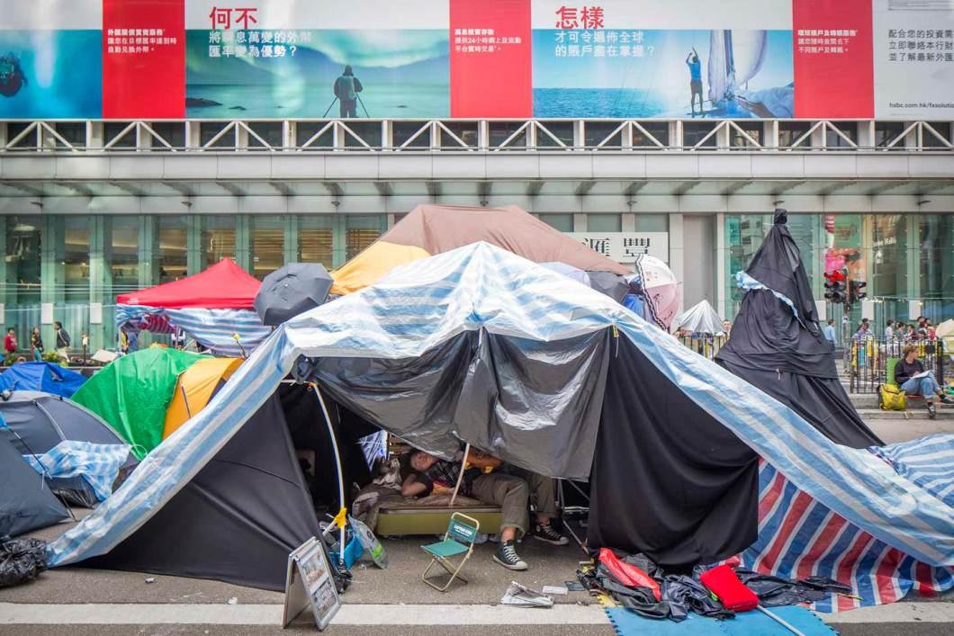 umbrella revolution fotografia cityscapes photography hong kong