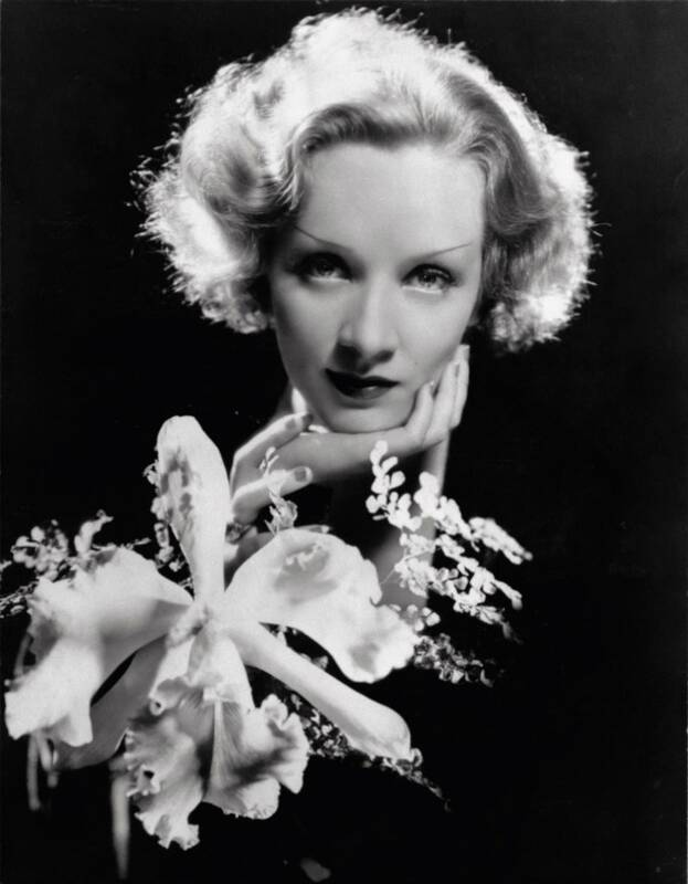 Marlene Dietrich. 1930