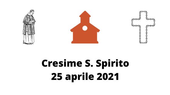 cresime santo spirito 2021