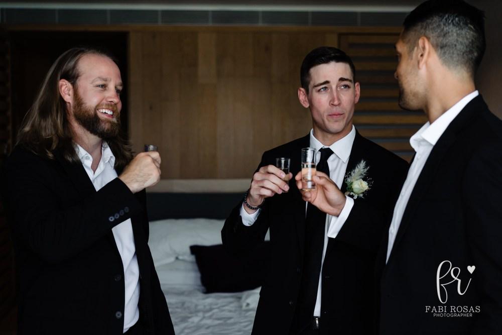 Breathless Wedding Groomsmen