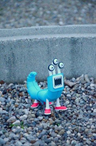 3d Druck Monsterwurm