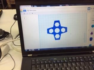 Fidget Spinner 3D Modell