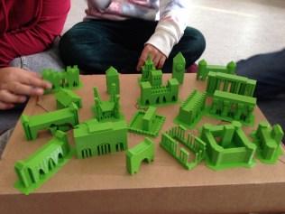 Stadttore und Wahrzeichen Europas in 3D