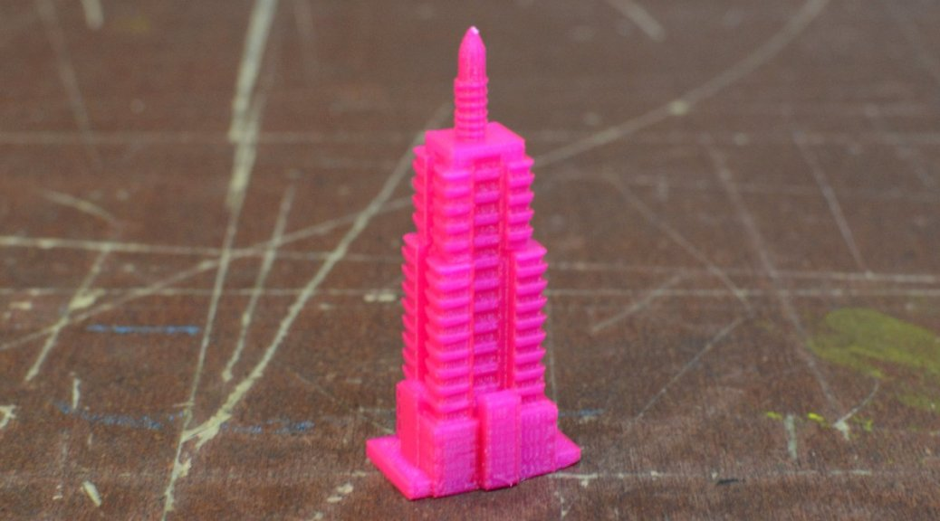 Empire State building §d print