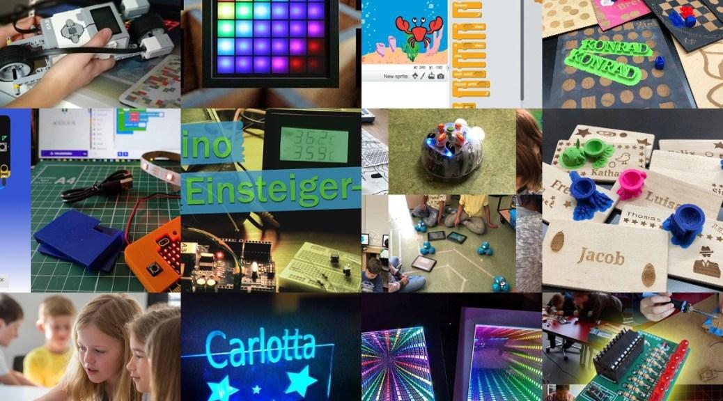 FabLabKids-Workshops in den Pfingstferien 2021