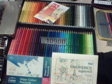 109 euro per una confezione di matite colorate: a Padova