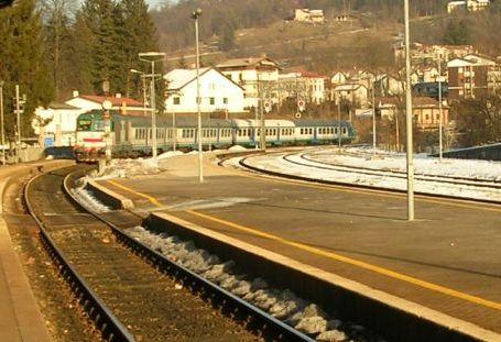 Il regionale Ponte Nelle Alpi- Padova con cui sono tornato da Feltre