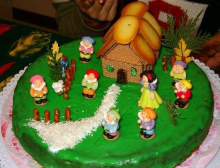 La torta per il nipotino di Marta
