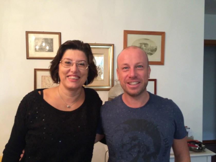 Io e Giada Da Ros a Pordenone nell'ottobre 2015.