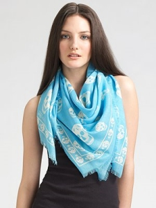 Fables in Fashion Scarves Alexander McQueen