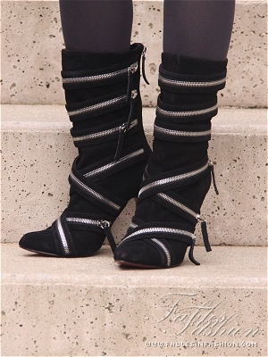 Fables in Fashion Zipper Boots
