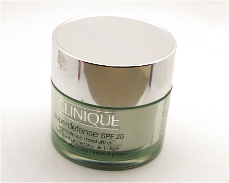 Clinique's Super Defense SPF 25 Moisturiser