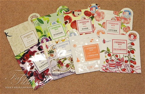 L'Herboflore Facial Cloth Masks
