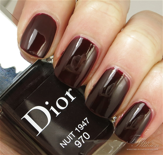 Dior Rouge Dior Fall 2013 Nail Polish Collection Review, Swatches ...