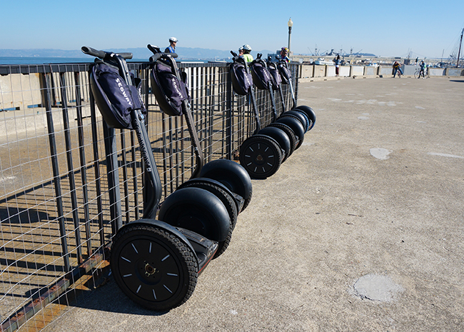Fables in USA ~ Segway & Benu