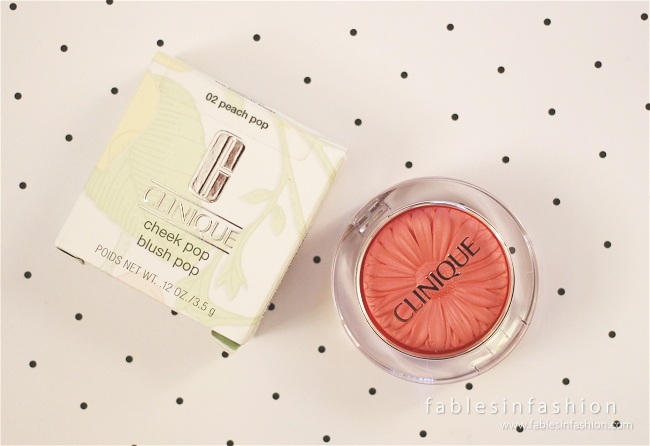 Clinique Cheek Pop - Peach Pop