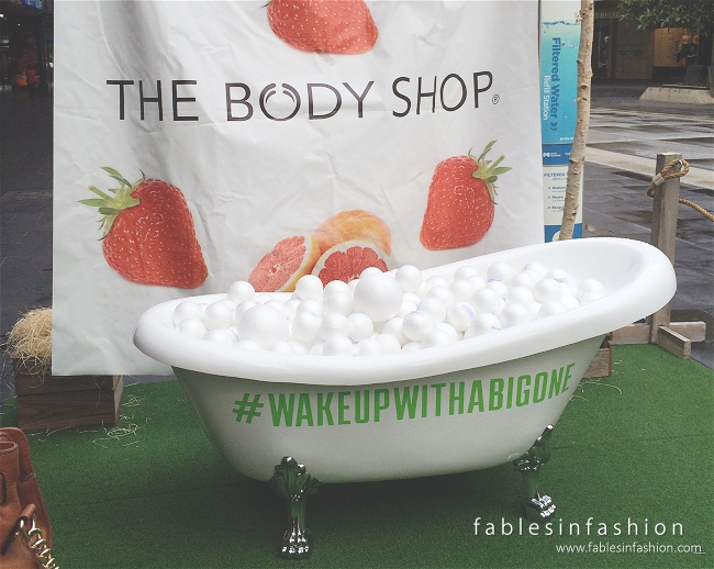 The Body Shop Jumbo Event ~ Wake Up With a Big One