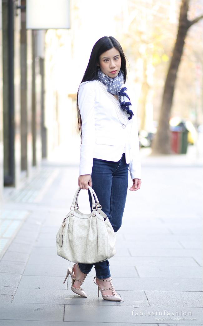 OOTD ~ White Jacket
