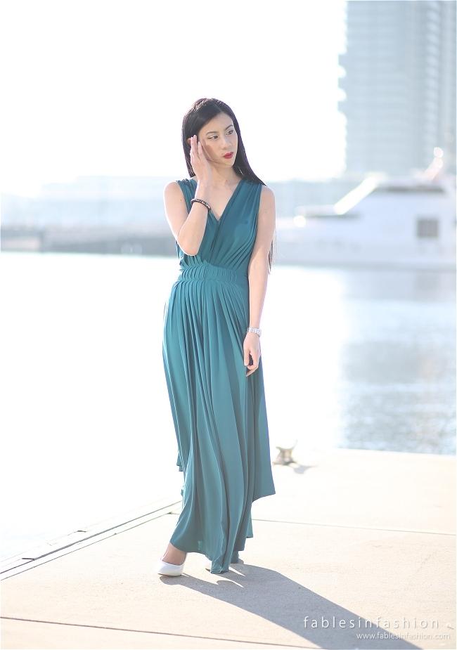 Fables Emerald Dress