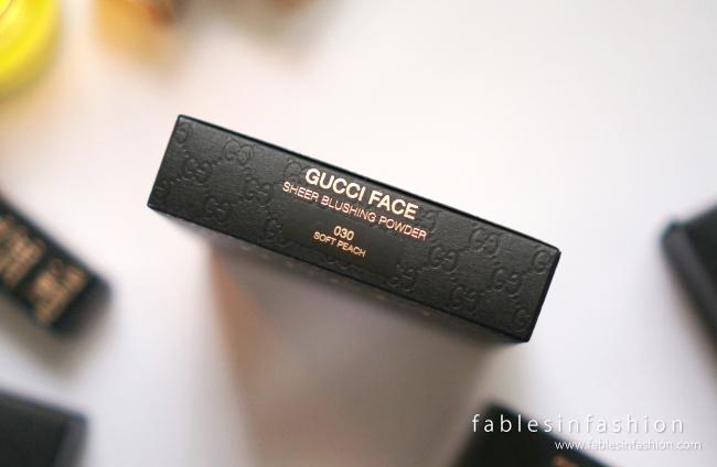 Gucci Face Sheer Blushing Powder - 030 Soft Peach