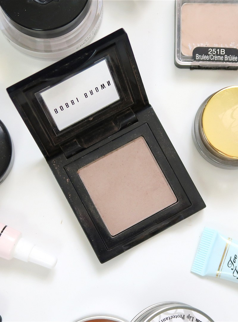 Bobbi Brown Eye Shadow in Cement Swatches and Review