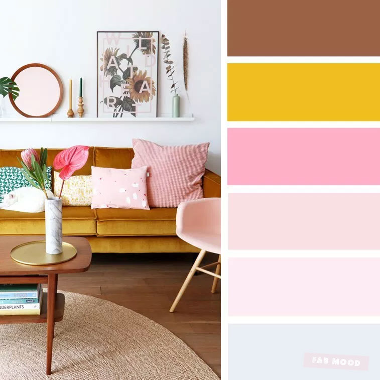 14 ideas Brighten up your room with yellow mustard color #color #mustard