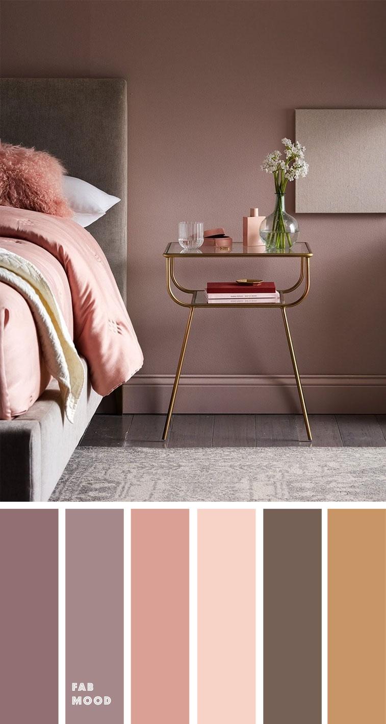 earth tone colors for bedroom mauve