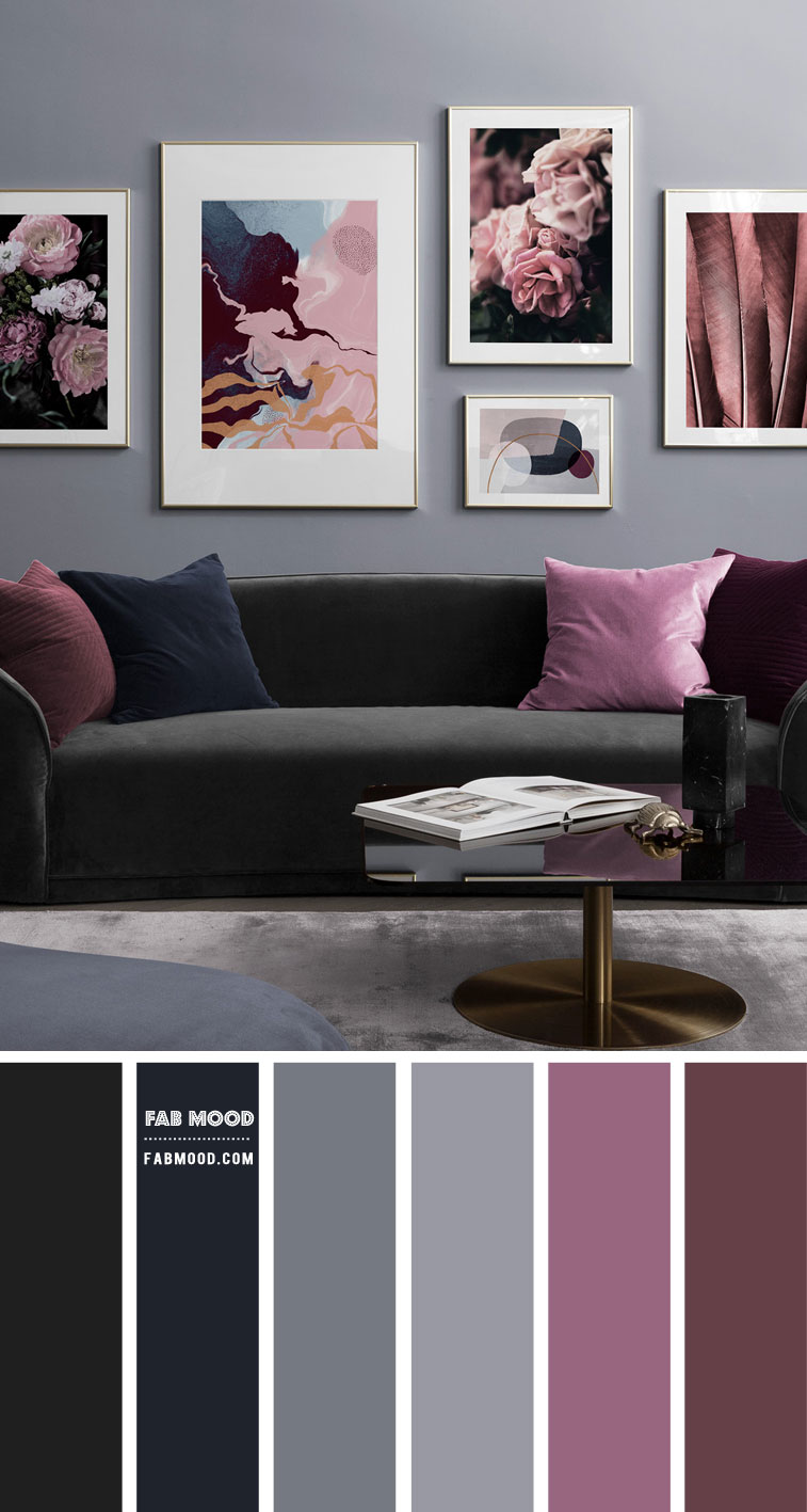 Beautiful Living Room In Grey Colour Palette 87 1 Fab Mood Wedding Colours Wedding Themes Wedding Colour Palettes