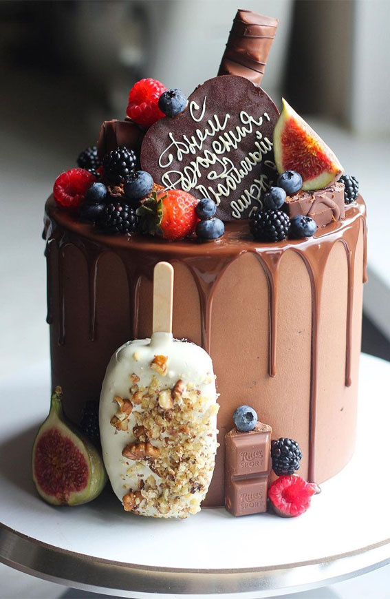 See more ideas about cupcake cakes, chocolate, cake decorating. 49 Cute Cake Ideas For Your Next Celebration Chocolate Chocolate