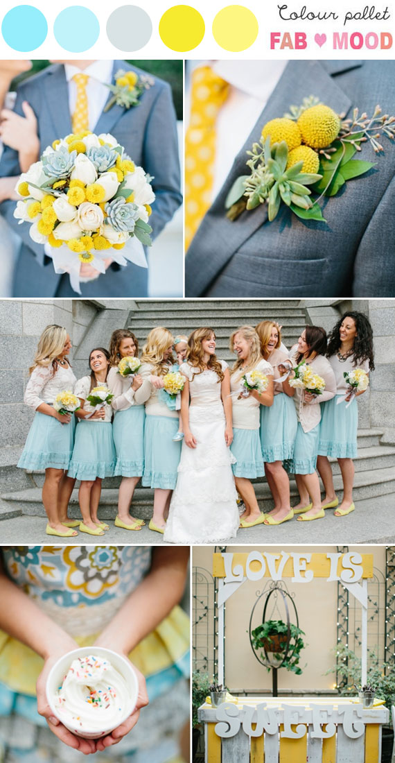 Inspirational Wedding Ideas 110 Turquoise Blue Yellow See More At Diyweddingsmag