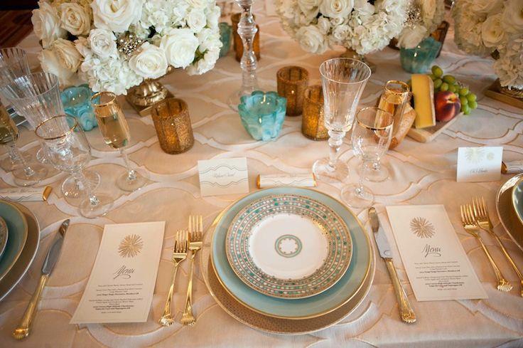 Formal Wedding Table Settings