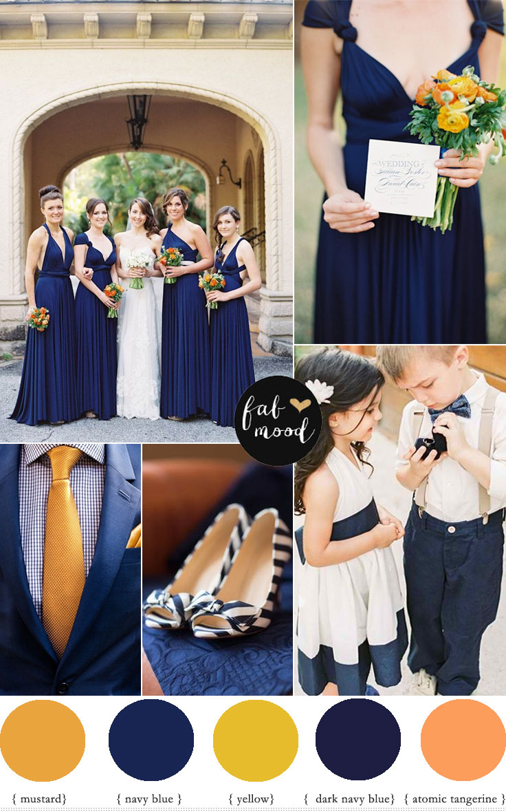Color Schemes Fall Weddings