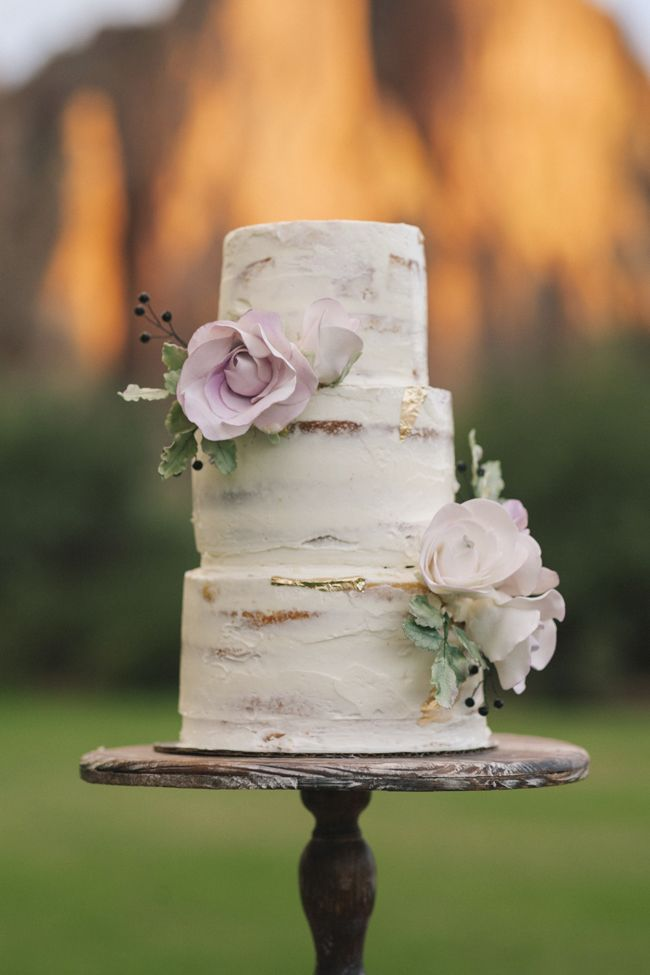 24 Semi Naked Wedding Cakes With Pretty Details Semi Naked Wedding Cake   http   www fabmood com 24