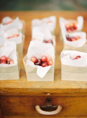 Fruits wedding favor | Cozy and Intimate Rustic Wedding | Photography : yuriyatel.com | read more: fabmood.com