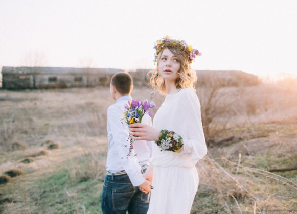 Natural,Boho Hippie Chic Wedding | fab mood