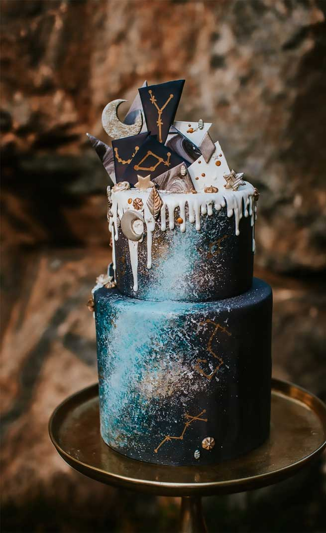 Starry Night And Celestial Wedding Theme For New Year S