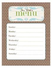 Monday Meal Plan